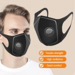 4 Pack Air Anti Dust Breathable Face Mouth Mask with Breathing