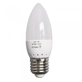 High Power E27 3W ES LED Candle Light Bulbs Spotlight