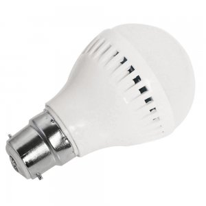5W B22 LED Light Bulb 330LM Plastic Shell Standard Globe Shape