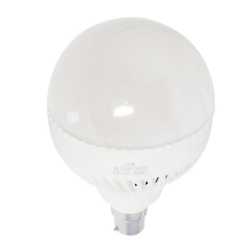 18W B22 LED Light Bulb 1800LM Plastic Shell Standard Globe Shape
