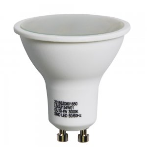 4W GU10 LED Spotlight Bulbs Cast Iron Shell 260LM