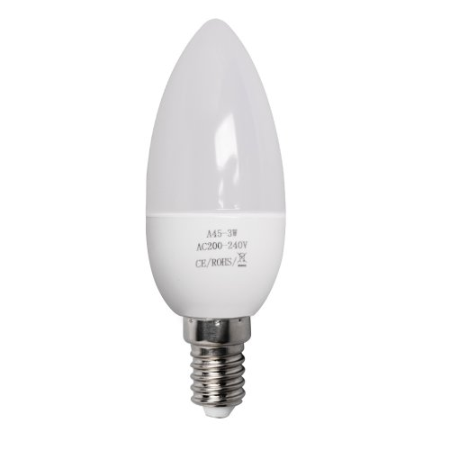 E14 3W=35W LED Candle Bulbs SES Energy Saving Lamps