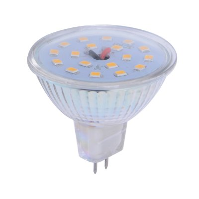 MR16 5W LED Spotlight Bulb 12V Glass Shell 300LM