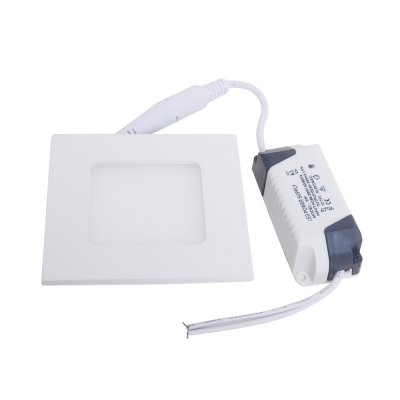 3W LED Ceiling Panel Downlight Super Slim Light/Lamp 90mmx90mm
