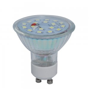 5W GU10 LED Spotlight Bulbs Glass Shell 280LM-Warmwhite