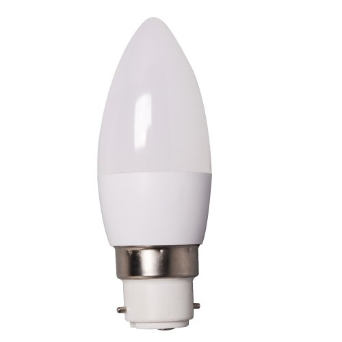 5W B22 Bayonet Cap Dimmable 5W LED SMD Candle Light Bulb