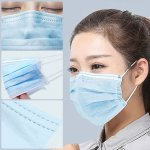 100X Dust-proof Anti-fog Disposable Face Mask for Men Women