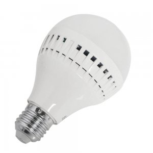 9W E27 LED Light Bulb 630LM Plastic Shell Standard Globe Shape