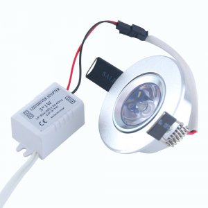 3W RGB Downlight LED Recessed Ceiling Spotlight Bulb with remote