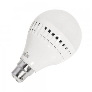 9W B22 LED Light Bulb 630LM Plastic Shell Standard Globe Shape