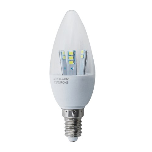 5W E14 SES LED Candle Bulbs Super Low Energy Daylight