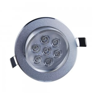7W Recessed Ceiling Light Downlight -Aluminum Shell 420-490LM