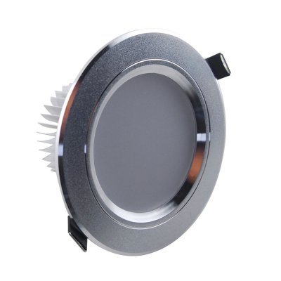 7W Recessed Ceiling Light Downlight Frosted - 385-455LM