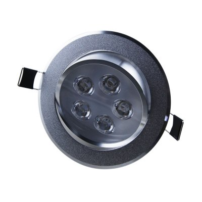 5W Recessed Ceiling Light Downlight -Aluminum Shell 300-350LM