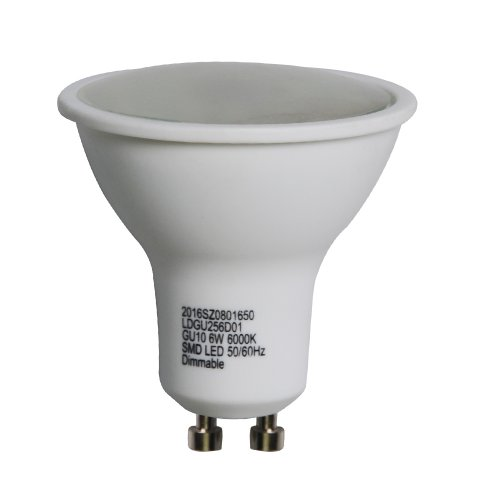 6W GU10 Dimmable LED Bulbs GU10 Lamps Spot Light Day Warm Color