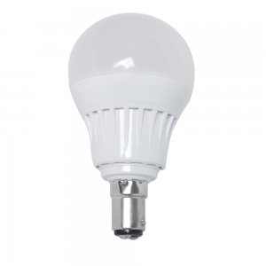 5W B15 LED Light Bulb 460LM Plastic Shell Standard Globe Shape